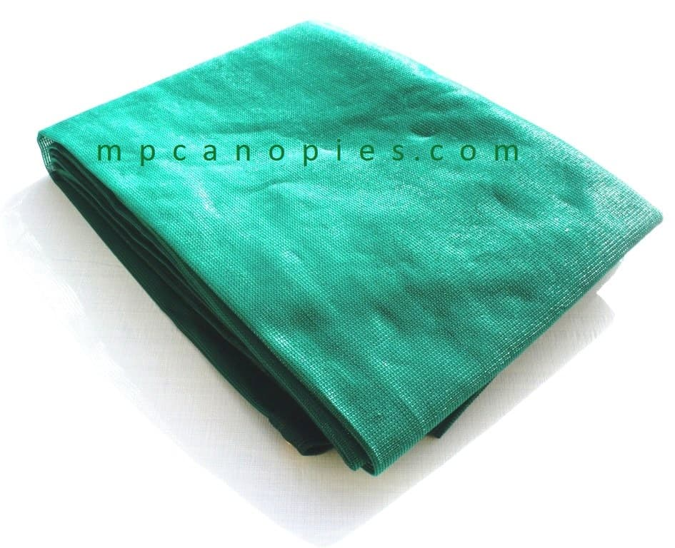 Mc Canopies - Green Mesh